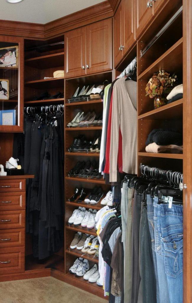 Custom Walk-In Closet Pleasanton CA