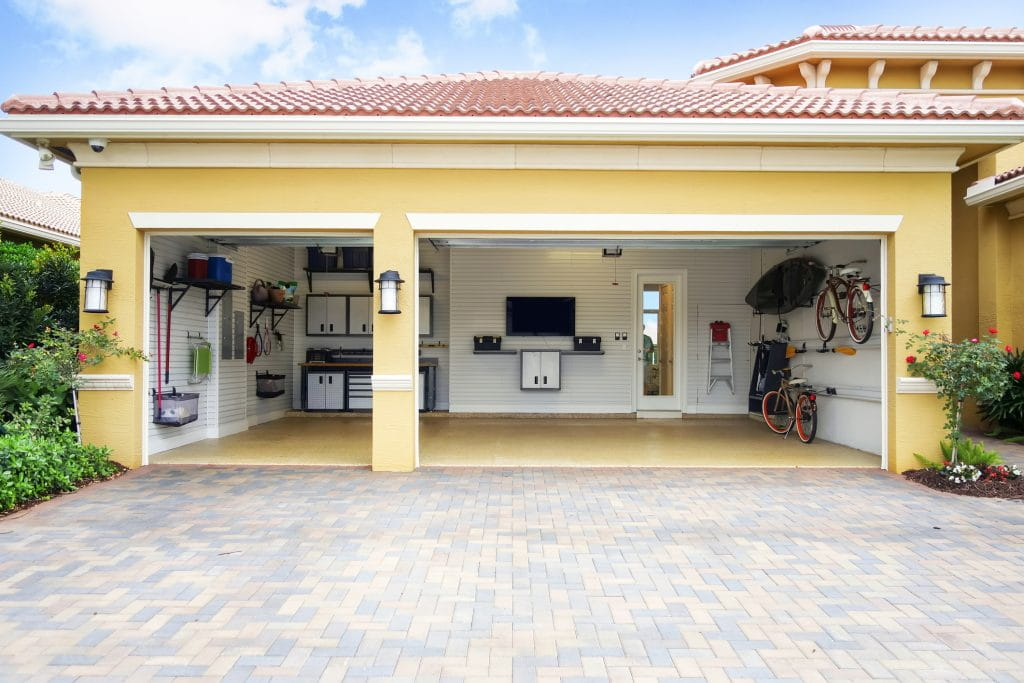 Garage makeover solutions in California