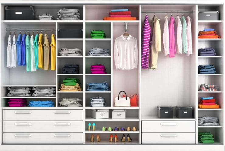Material Options for Custom Closets