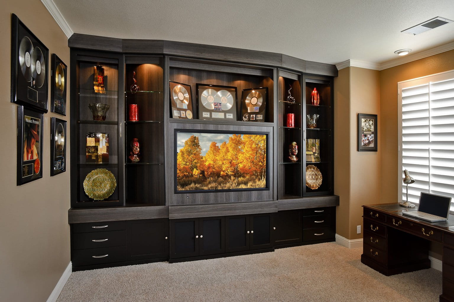 The Best Entertainment Center from Bay Home and Window