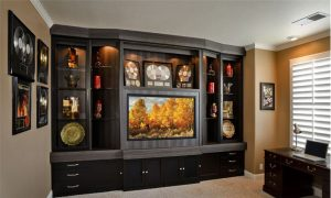 Built-in Entertainment Center Pleasanton CA
